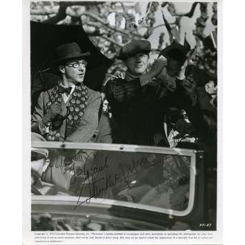 STEVE MCQUEEN Photo de presse signée 20x25 - 1973 - ,