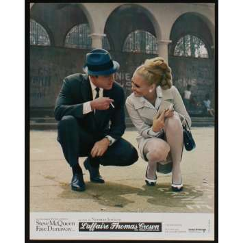THOMAS CROWN AFFAIR French Lobby card N12 9x12 - 1968 - Norman Jewison, Steve McQueen