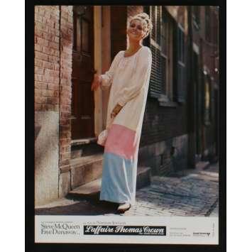 THOMAS CROWN AFFAIR French Lobby card N11 9x12 - 1968 - Norman Jewison, Steve McQueen