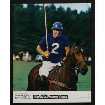 THOMAS CROWN AFFAIR French Lobby card N8 9x12 - 1968 - Norman Jewison, Steve McQueen