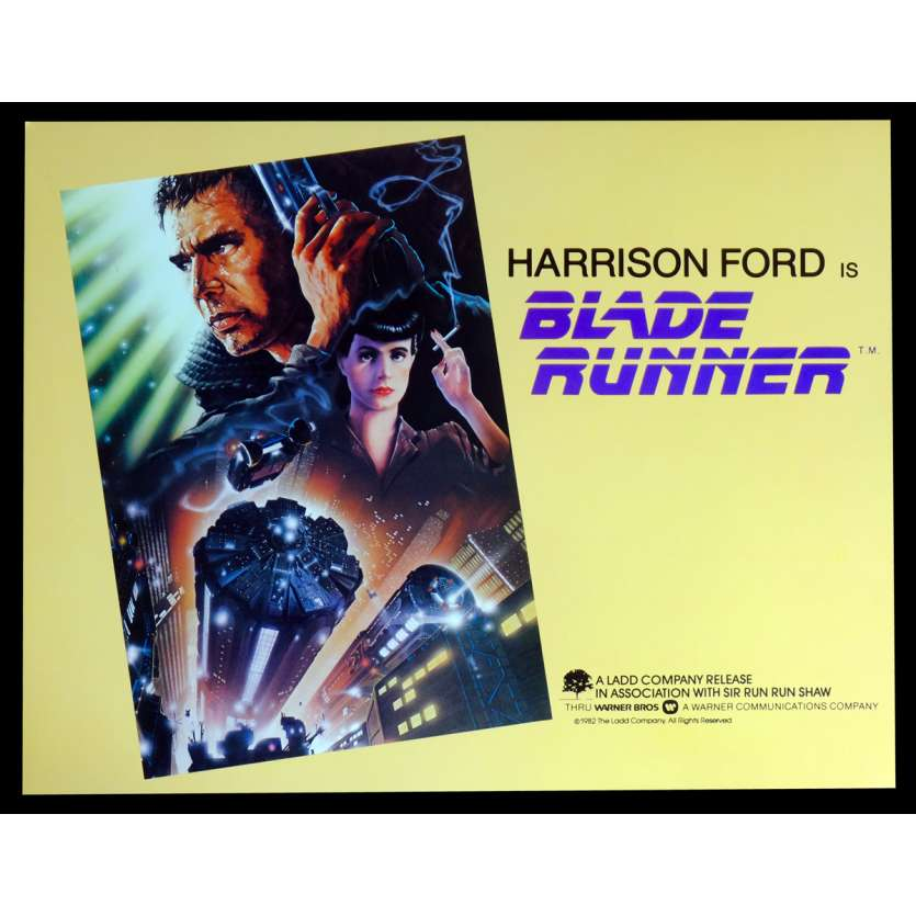 BLADE RUNNER US Lobby Card N5 11x14 - 1982 - Ridley Scott, Harrison Ford