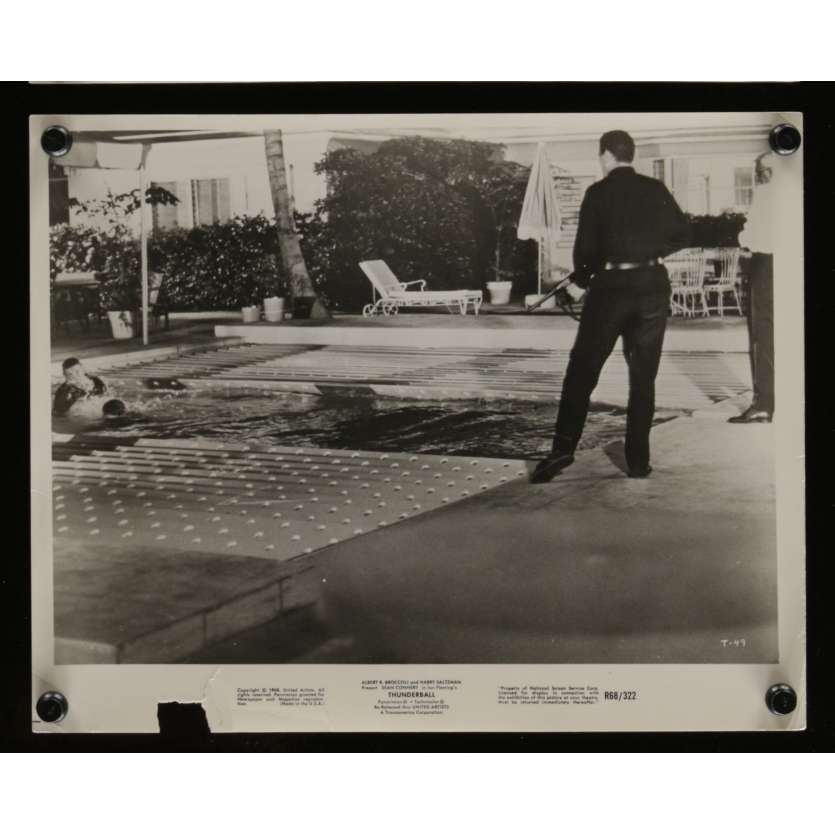 OPERATION TONNERRE Photo de presse N2 20x25 - R1968 - Sean Connery, James Bond