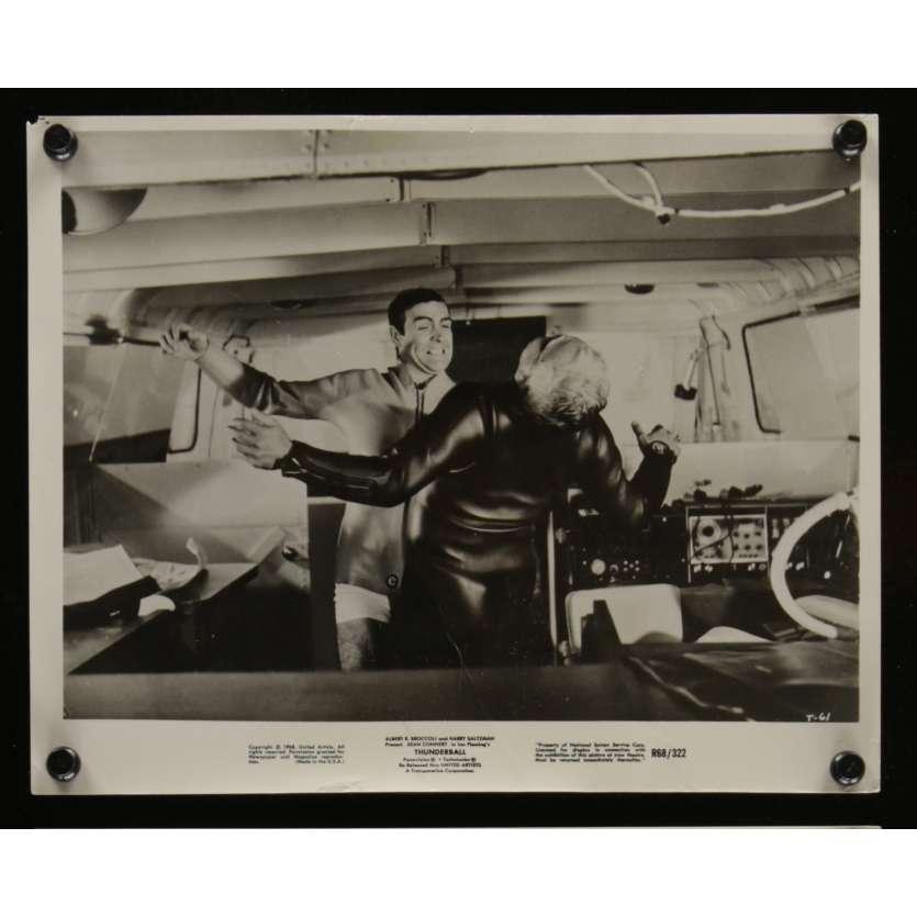 OPERATION TONNERRE Photo de presse N1 20x25 - R1968 - Sean Connery, James Bond