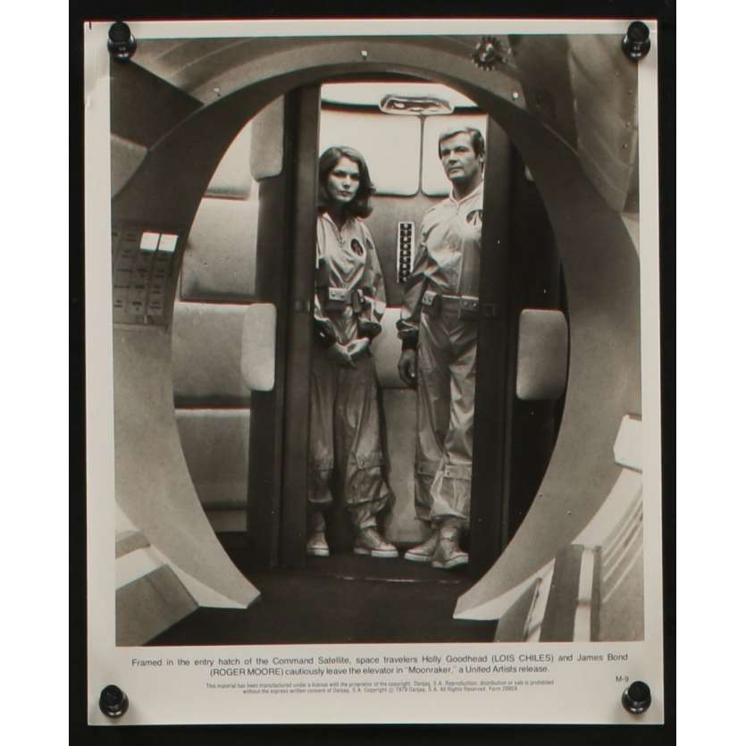 MOONRAKER Photo de presse N8 20x25 - 1979 - Roger Moore, James Bond