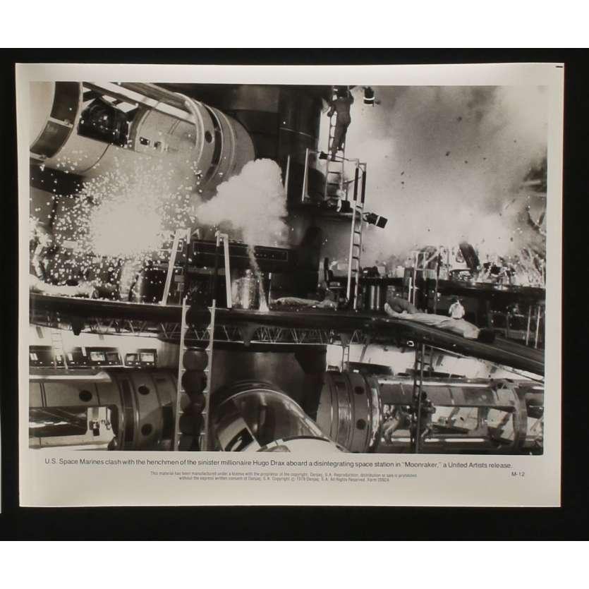 MOONRAKER Photo de presse N6 20x25 - 1979 - Roger Moore, James Bond