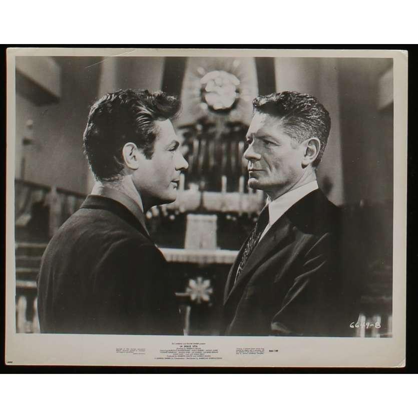 LA DOUCEUR DE VIVRE Photo de presse N5 20x25 - R1966 - Mastroianni, Federico Fellini