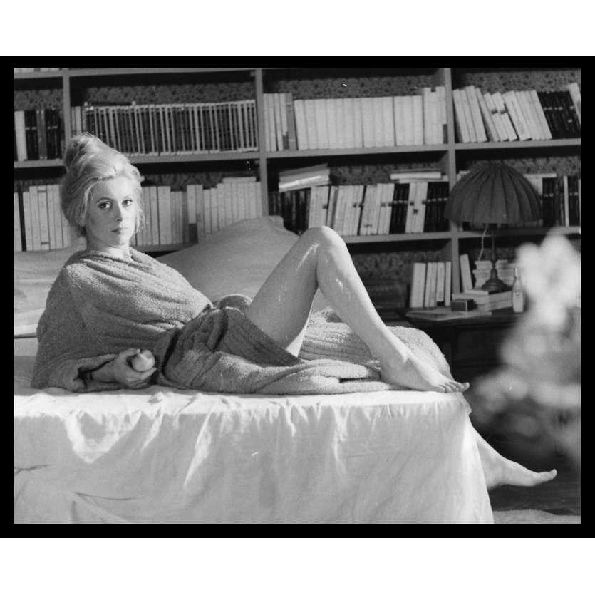 LA CHAMADE Photo de presse N2 20x25 - 1968 - Catherine Deneuve, Françoise Sagan