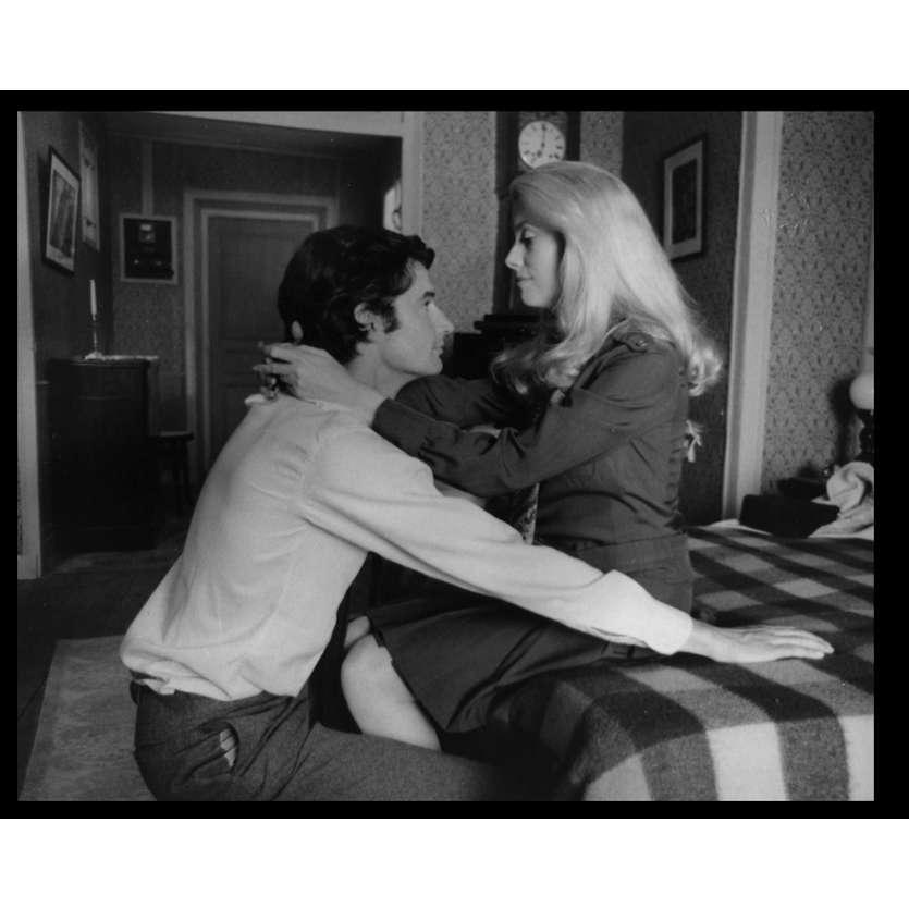 LA CHAMADE Photo de presse N11 20x25 - 1968 - Catherine Deneuve, Françoise Sagan