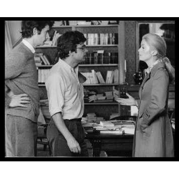 LA CHAMADE Photo de presse N12 20x25 - 1968 - Catherine Deneuve, Françoise Sagan