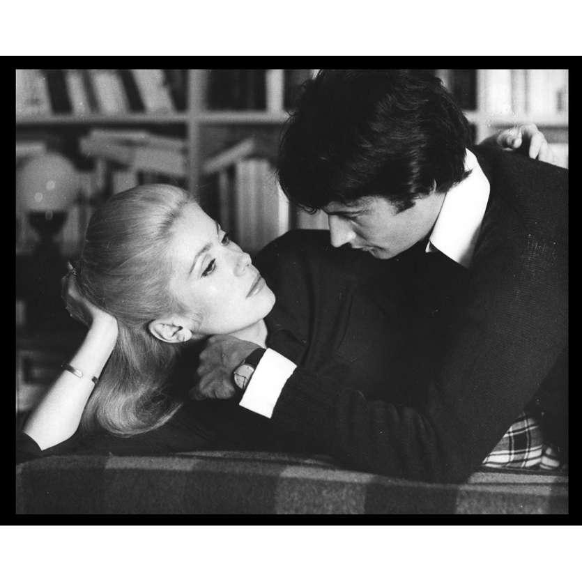 LA CHAMADE Photo de presse N15 20x25 - 1968 - Catherine Deneuve, Françoise Sagan