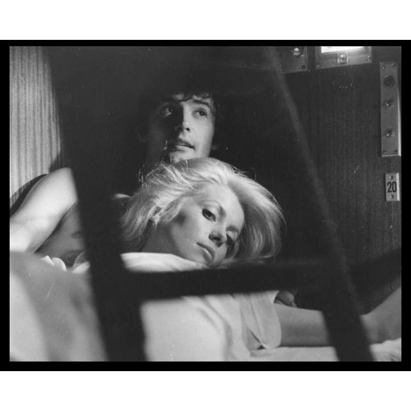 LA CHAMADE Photo de presse N16 20x25 - 1968 - Catherine Deneuve, Françoise Sagan