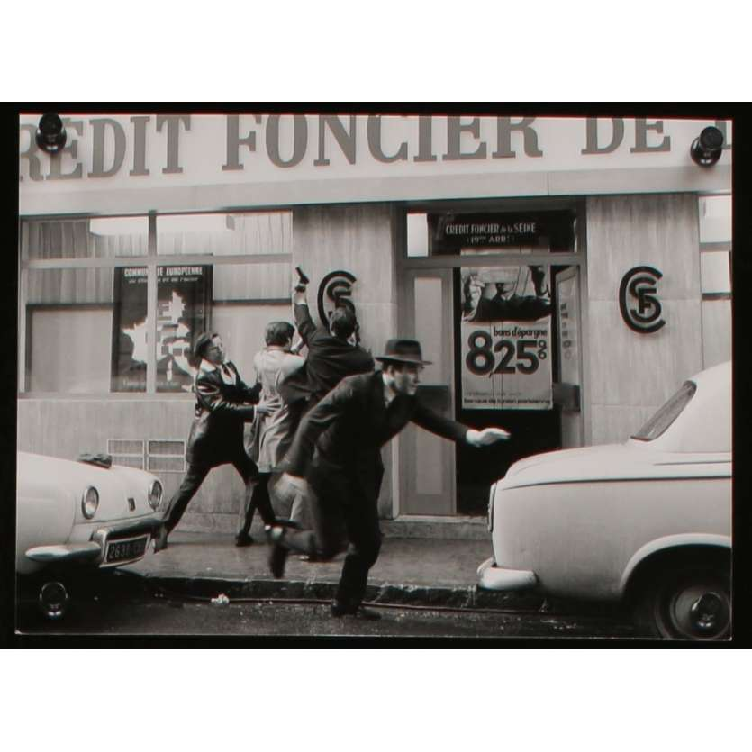 MAX AND THE JUNKMEN US Movie Still N2 8x10 - 1971 - Claude Sautet, Philippe Noiret