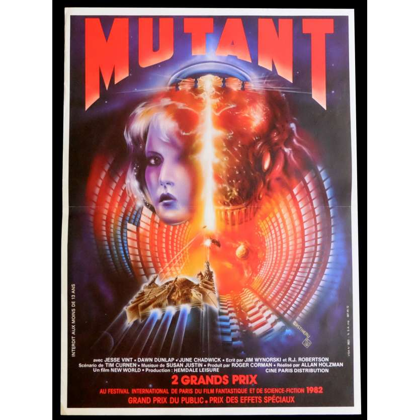FORBIDDEN WORLD French Movie Poster 15x21 - 1982 - Allan Holzman, Jesse Vint