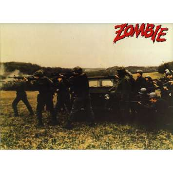 ZOMBIE Photo de film N4 20x30 - 1979 - Ken Foree, George A. Romero