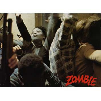 DAWN OF THE DEAD German Lobby Card N5 8x12 - 1979 - George A. Romero, Ken Foree