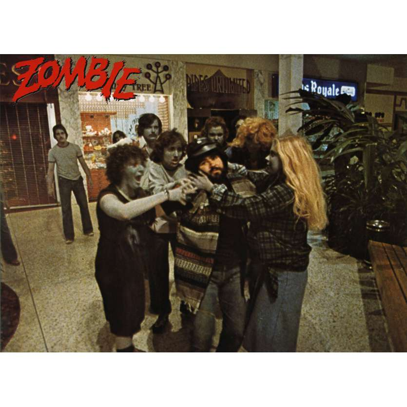 ZOMBIE Photo de film N14 20x30 - 1979 - Ken Foree, George A. Romero