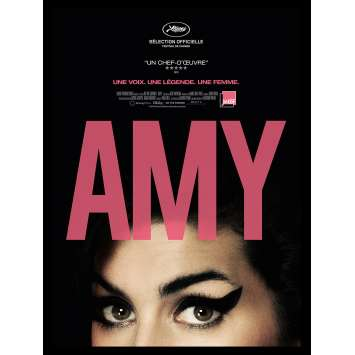 AMY French Movie Poster 15x21 - 2015 - Asif Kapadia, Amy Winehouse