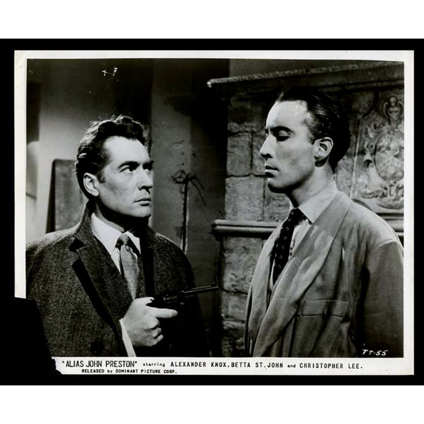 ALIAS JOHN PRESTON Photo de presse 20x25 - 1955 - Christopher Lee, David Macdonald