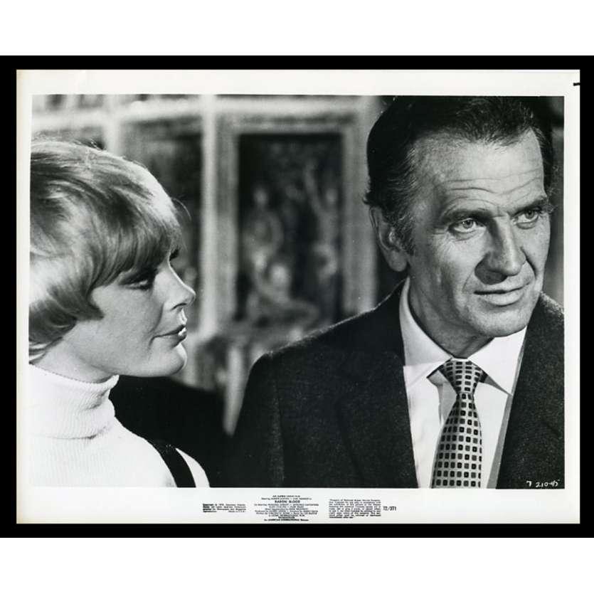 BARON VAMPIRE Photo de presse 20x25 - 1972 - Joseph Cotten, Mario Bava
