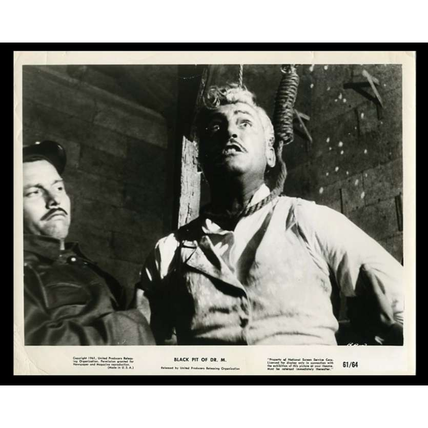 BLACK PIT OF DR. M US Movie Still 8X10 - 1961 - Fernando Mendez, Gaston Santos