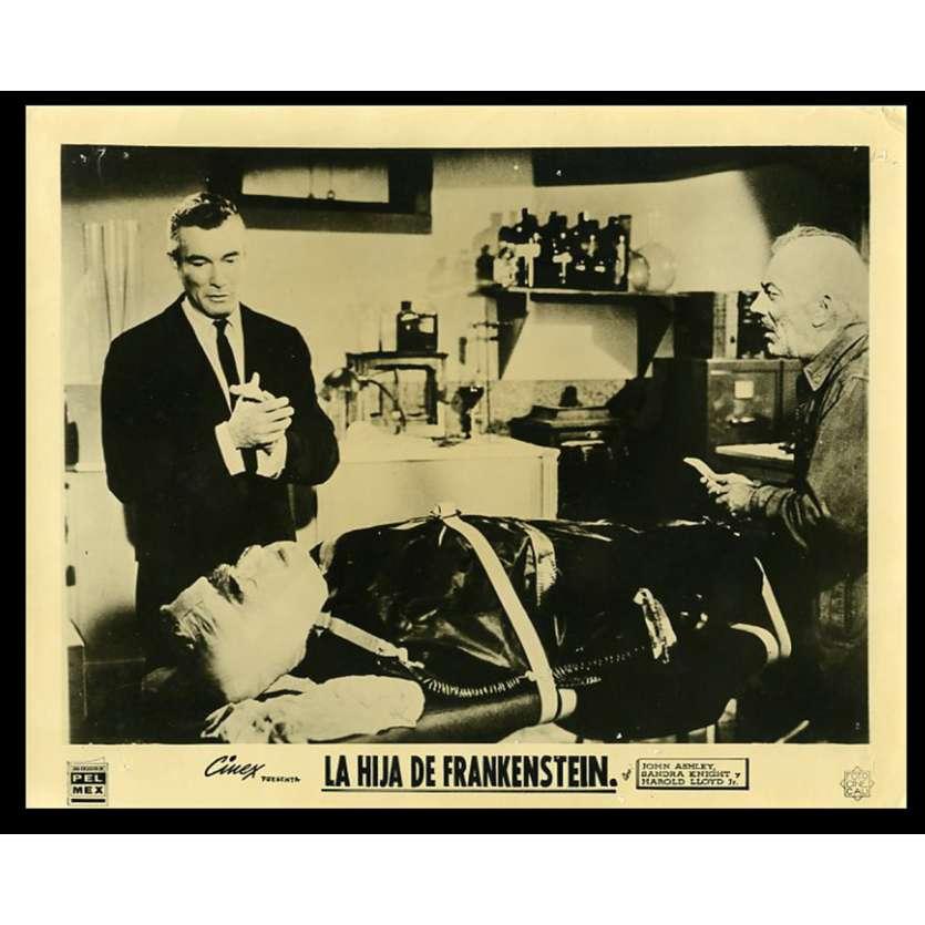 LA FILLE DE FRANKENSTEIN Photo de presse 20x25 - 1958 - John Ashley, Richard E. Cunha