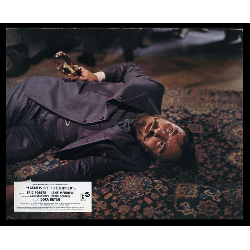 HANDS OF THE RIPPER US Lobby Card 8X10 - 1971 - Peter Sasdy, Hammer, Eric Porter