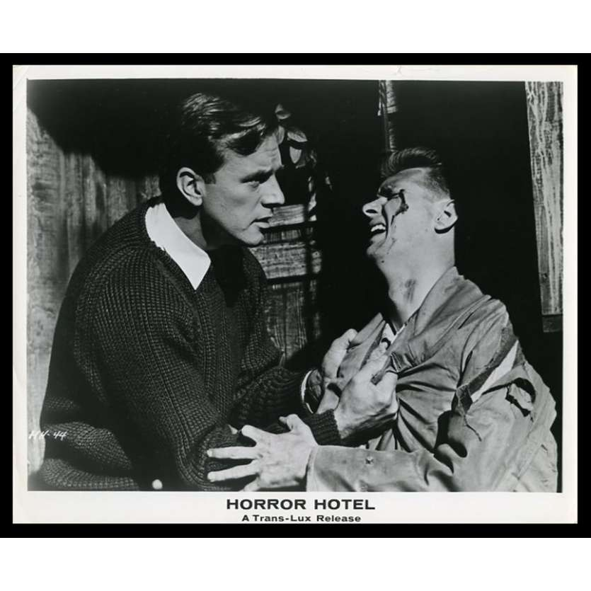 HORROR HOTEL US Movie Still 8X10 - 1960 - John Llewellyn Moxey, Christopher Lee