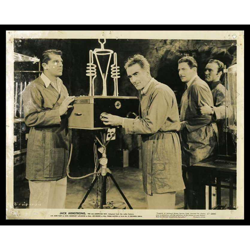 JACK ARMSTRONG US Movie Still 8X10 - 1947 - Wallace Fox, John Hart