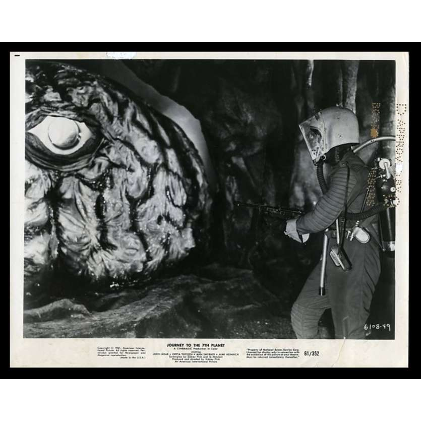 JOURNEY TO THE 7TH PLANET Photo de presse 20x25 - 1961 - John Agar, Sidney W. Pink