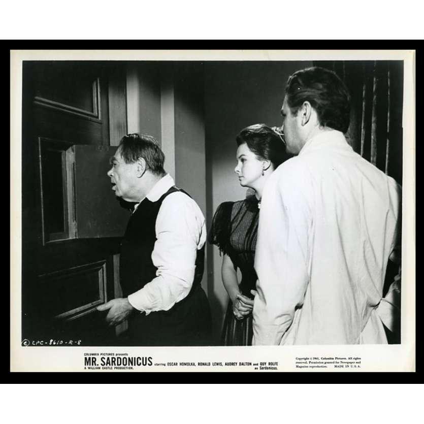 MR. SARDONICUS Photo de presse 20x25 - 1961 - Guy Rolfe, William Castle
