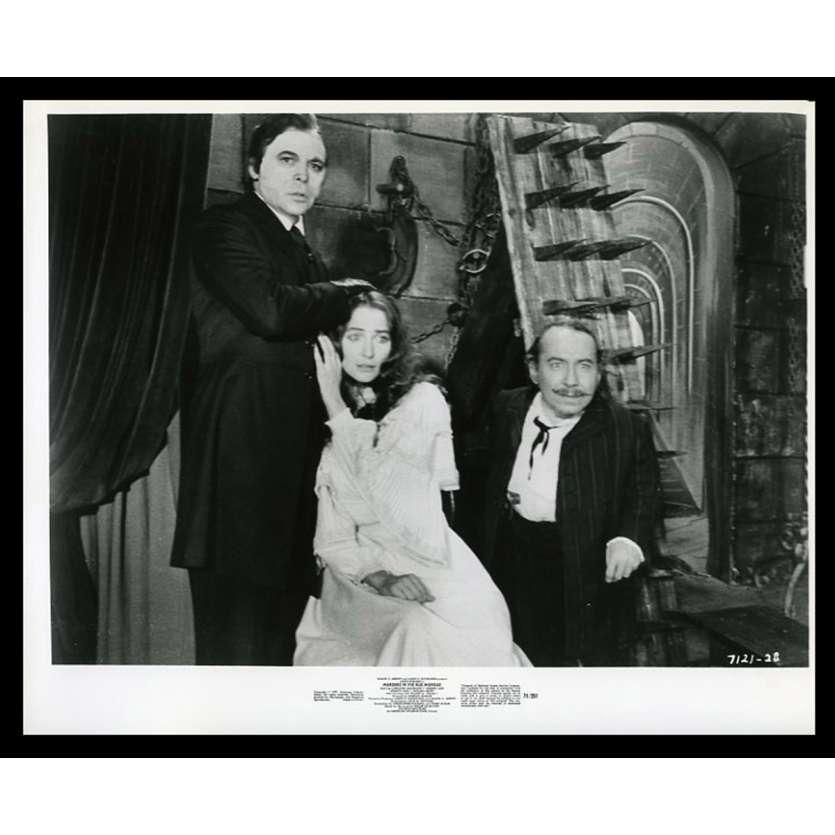MURDER IN THE RUE MORGUE US Movie Still 8X10 - 1971 - Gordon Hessler, Jason Robards