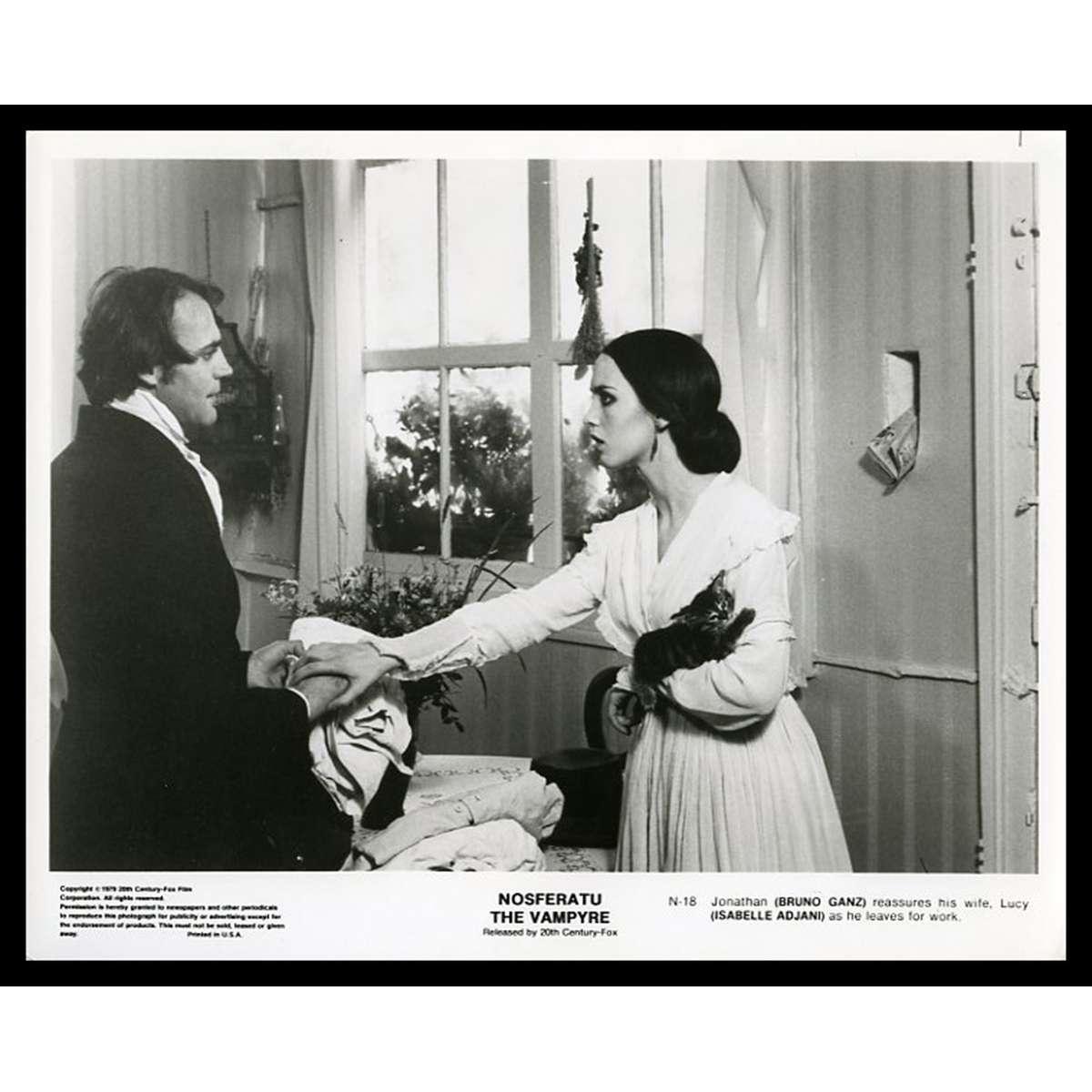 NOSFERATU THE VAMPIRE US Movie Still 8X10 - 1979 - Werner Herzog, Klaus  Kinski, Isabelle Adjani