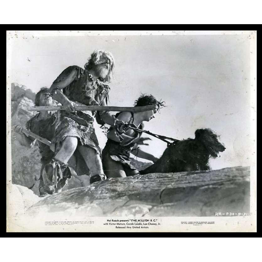 UN MILLION D'ANNEES AVANT JC Photo de presse 20x25 - 1940 - Lon Chaney Jr, Hal Roach