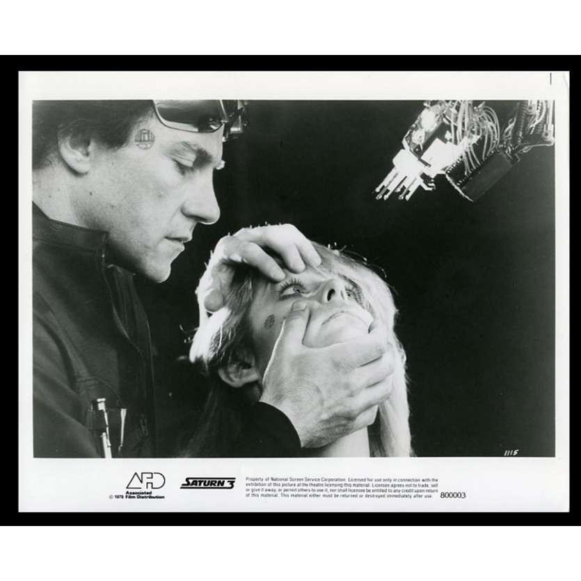 SATURN 3 Photo de presse 20x25 - 1980 - Harvey Keitel, Farrah Fawcett, Stanley Donen
