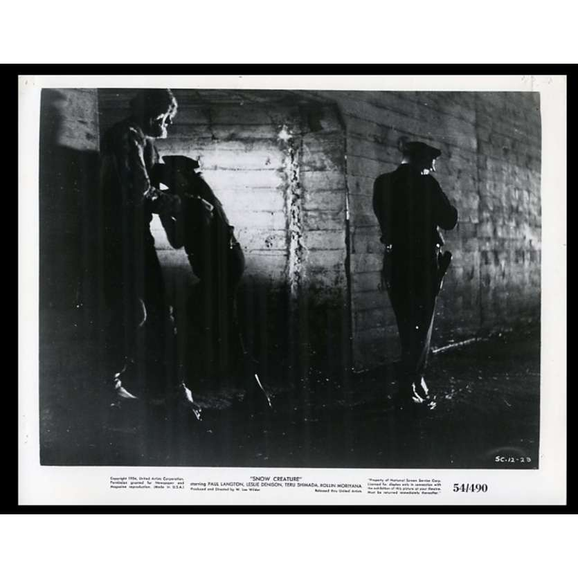 SNOW CREATURE US Movie Still 8X10 - 1954 - W. Lee Wilder, Paul Langton