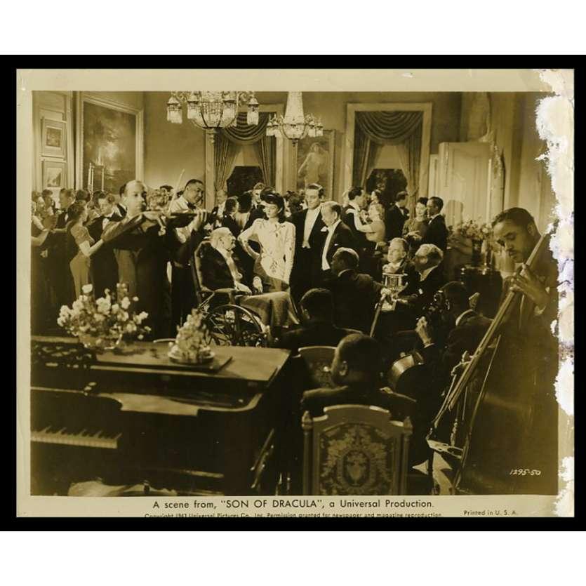 SON OF DRACULA US Movie Still 8X10 - 1943 - Robert Siodmak, Lon Chaney Jr