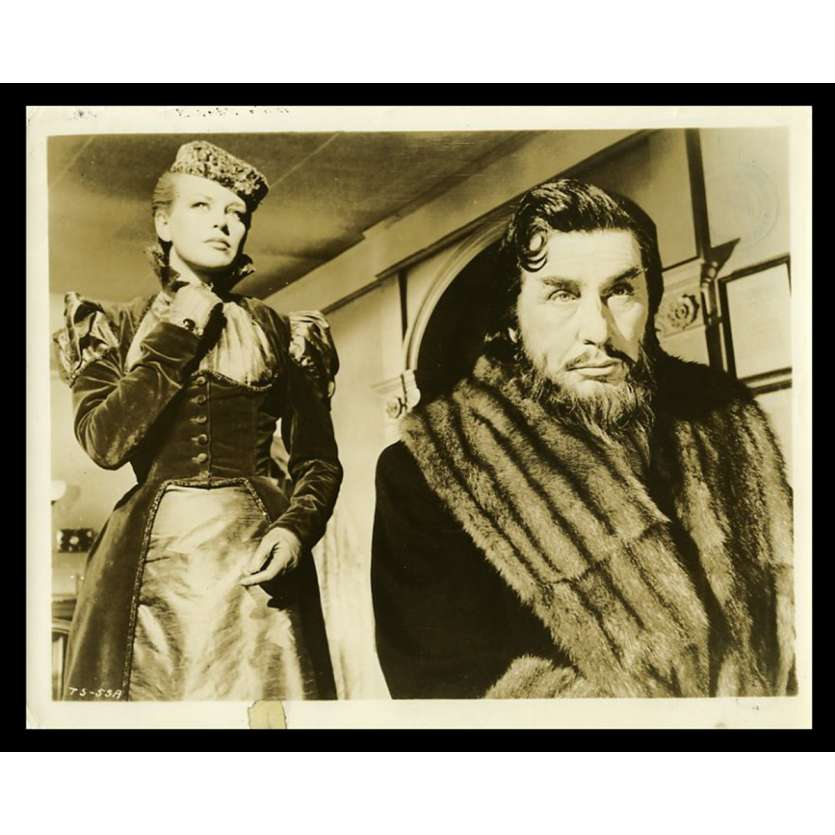 SVENGALI Photo de presse 20x25 - 1950 - John Barrymore, Archie Mayo