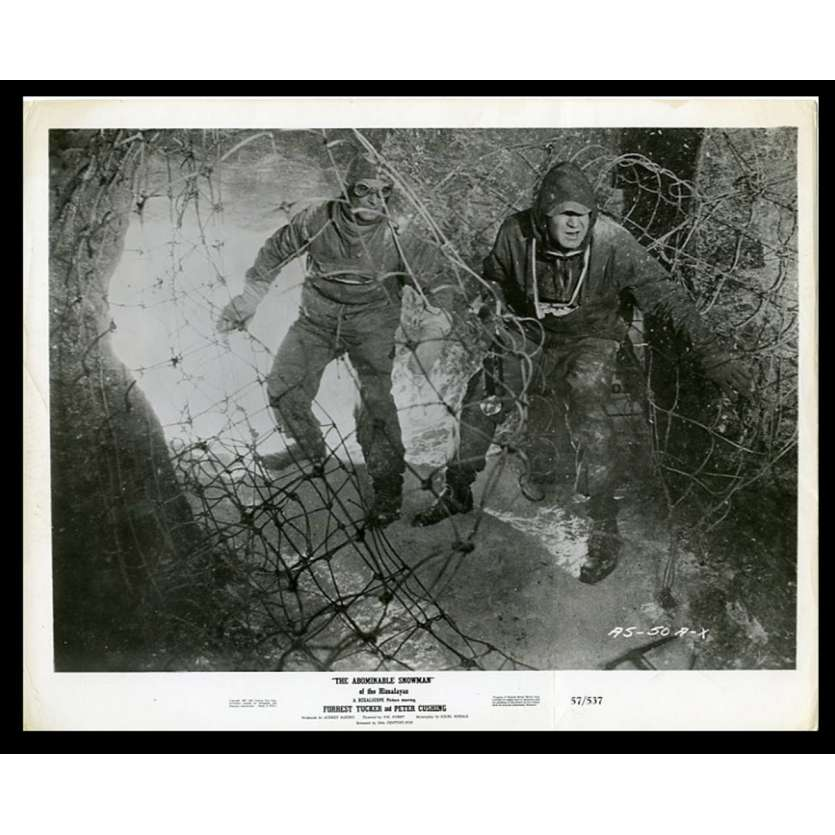 LE REDOUTABLE HOMME DES NEIGES Photo de presse 20x25 - 1957 - Peter Cushing, Val Guest