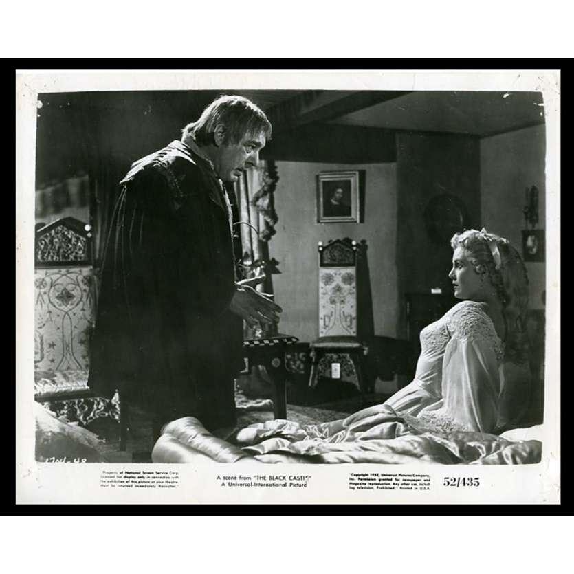 LE MYSTERE DU CHÂTEAU NOIR Photo de presse 20x25 - 1952 - Richard Greene, Nathan Juran
