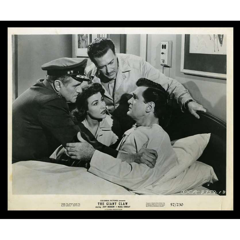 THE GIANT CLAW US Movie Still 8X10 - 1957 - Fred Sears, Jeff Morrow