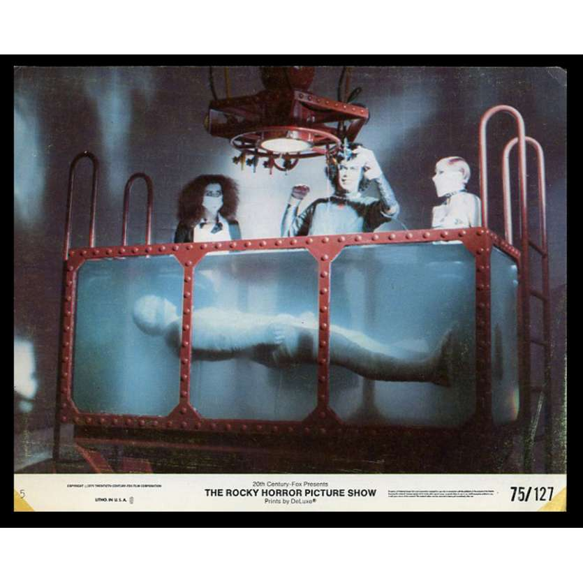 THE ROCKY HORROR PICTURE SHOW US Lobby Card 8X10 - 1975 - Jim Sharman, Tim Curry