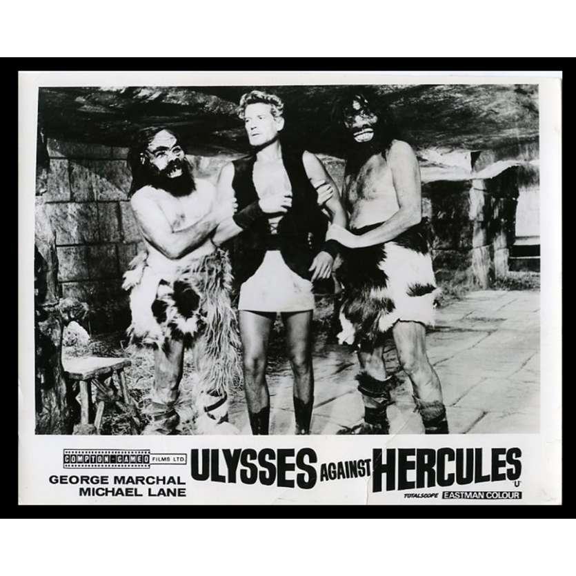 ULYSSE CONTRE HERCULE Photo de presse 20x25 - 1962 - George Marchal, Maria Caiano