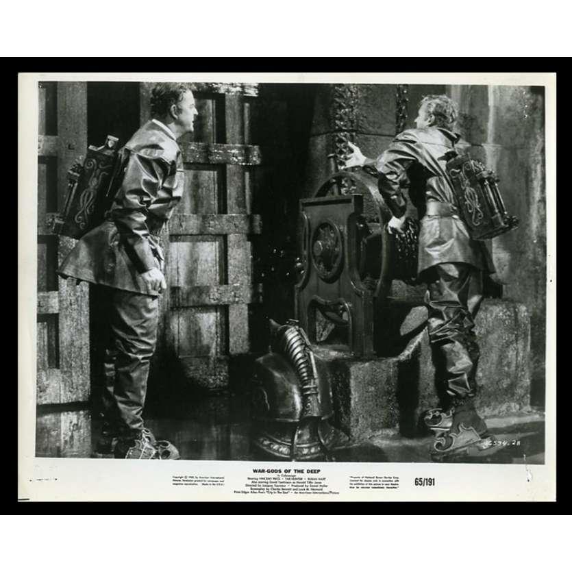 WAR-GODS OF THE DEEP US Movie Still 8X10 - 1965 - Jacques Tourneur, Vincent Price
