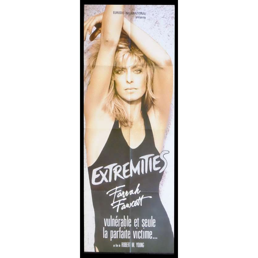 EXTREMITIES French Movie Poster 23x63 - 1986 - , Farah Fawcett