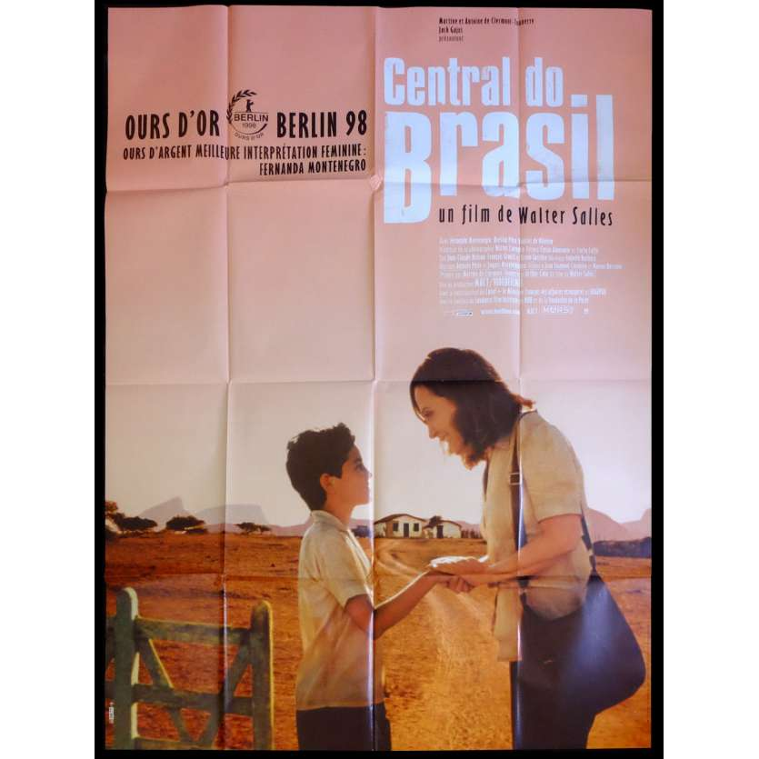 CENTRAL DO BRASIL Affiche de film 120x160 - 1998 - , Walter Salles