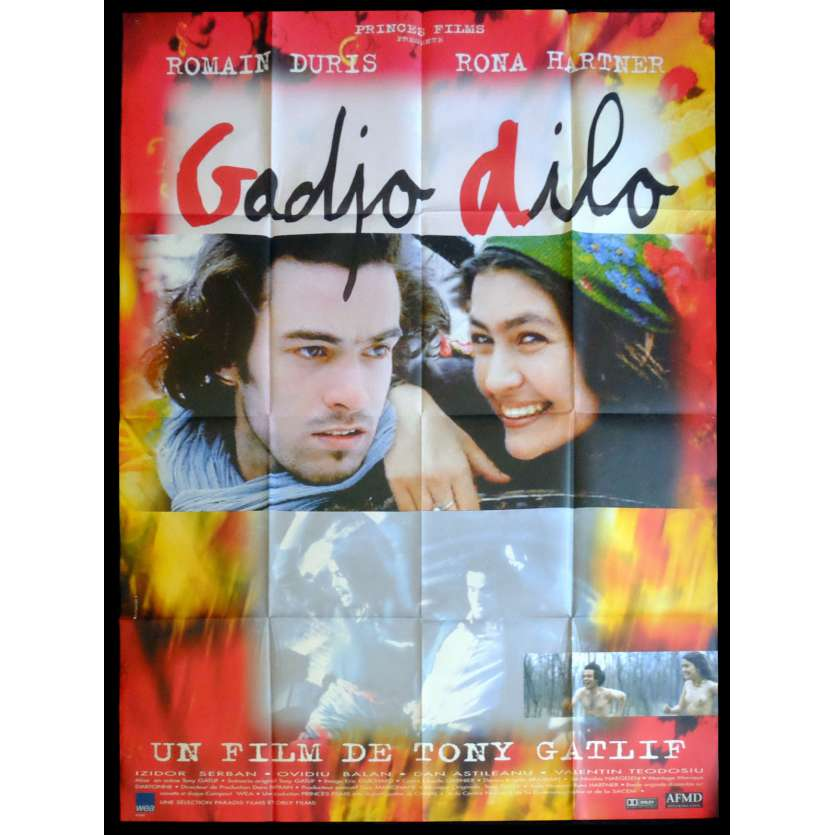 GADJO DILO Affiche de film 120x160 - 1997 - Romain Duris, Tony Gatlif