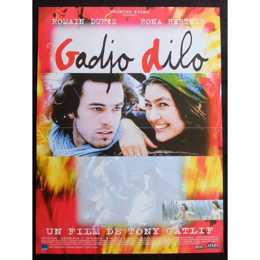 GADJO DILO Affiche de film 40x60 - 1997 - Romain Duris, Tony Gatlif