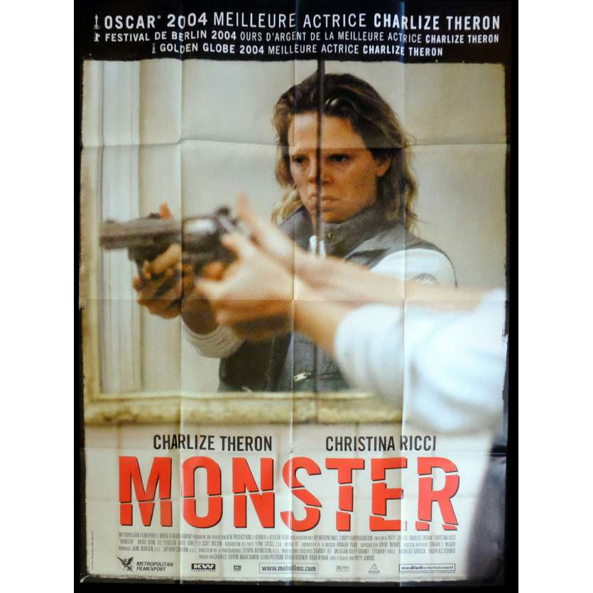 MONSTER French Movie Poster 47x63 - 2003 - Patty Jenkins, Charlize Theron