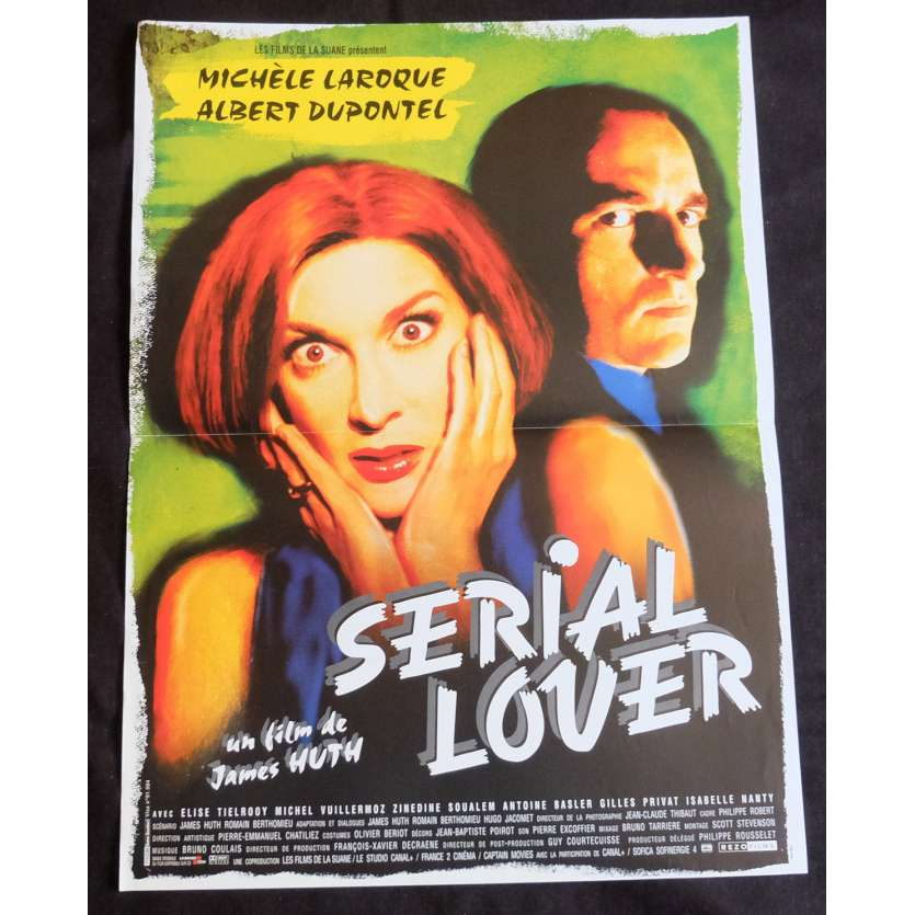 SERIAL LOVER Affiche de film 40x60 - 1998 - Albert Dupontel, James Huth