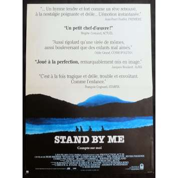 STAND BY ME French Movie Poster 15x21 - 1986 - Rob Reiner, River Phoenix